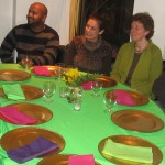 CIP trainees from Ethiopia, Spain, and Germany with CIP host family members