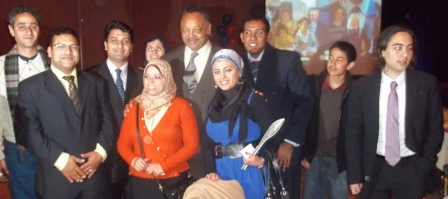 Open World Delegates from Egypt at a CAIR dinner